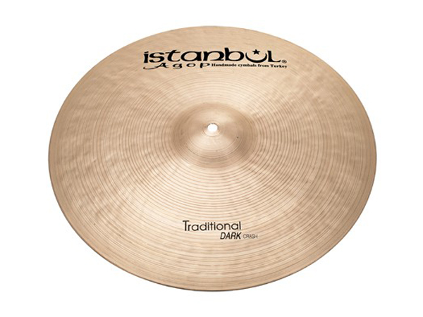"Istanbul Agop Traditional Dark CRASH 18"" ☆ イスタンブールアゴップ"