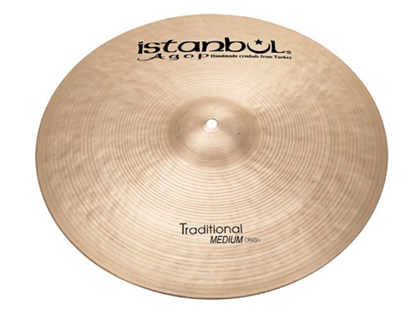 "Istanbul Agop Traditional Medium CRASH 17"" ☆ イスタンブールアゴップ"