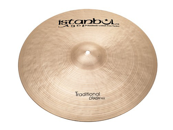 "Istanbul Agop Traditional CRASH RIDE 18"" ☆ イスタンブールアゴップ"