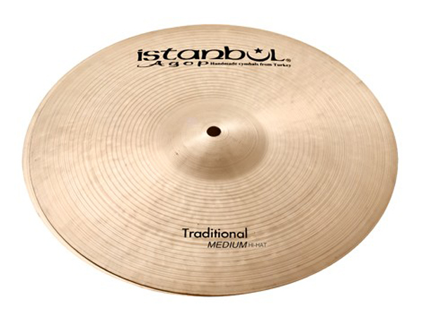 "Istanbul Agop Traditional MEDIUM HATS 14"" (PAIR) ☆ イスタンブールアゴップ"