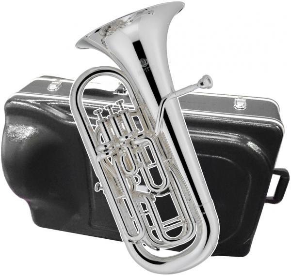 JUPITER  ( ジュピター ) JEP1120S ユーフォニアム 銀メッキ 新品 コンペンセイティングシステム 4ピストン サイドアクション 太管 管楽器 Euphonium JEP-1120S 一部送料追加