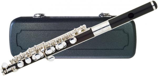 JUPITER  ( ジュピター ) 送料無料 ピッコロ JPC-305ES Eメカニズム付き 新品 ABS 樹脂製 頭部管 管体 C管 ケース セット piccolo 管楽器 キイ 洋白銀メッキ