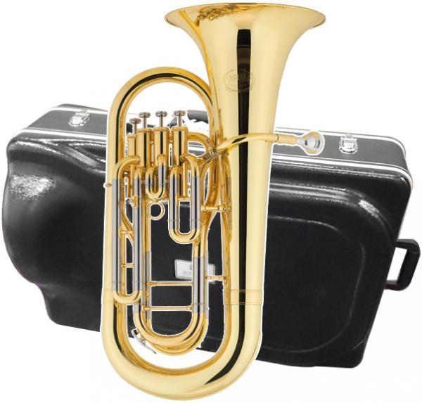 JUPITER  ( ジュピター ) 送料無料 4ピストン ユーフォニアム JEP-470L 新品 トップアクション ゴールド ラッカー 楽器 B♭管 本体 イエローブラス ベル 管楽器