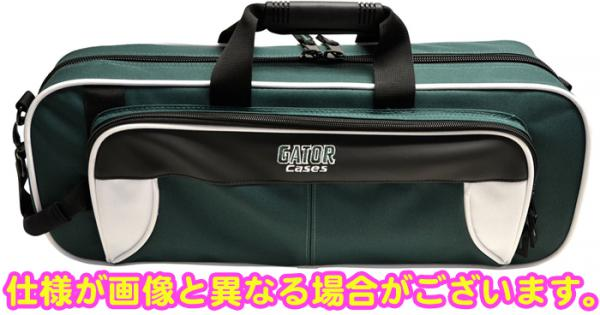 在庫限り トランペットケース GATOR GL-TRUMPET -WG グリーン セミハードケース 管楽器 ショルダー ストラップ付き シングル トランペット ケース
