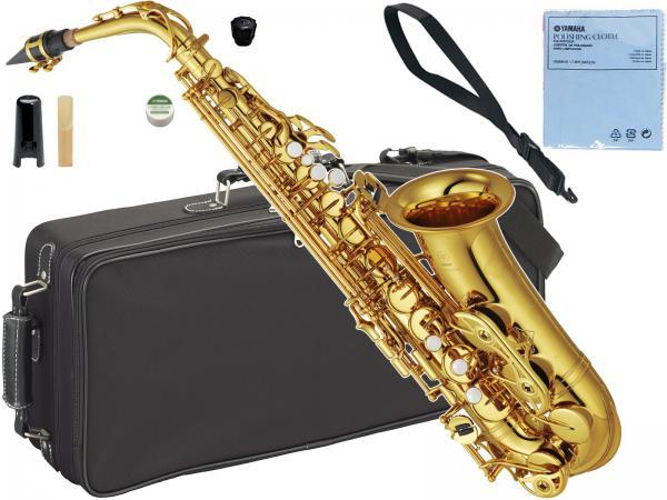 YAMAHA ( ヤマハ ) YAS-62 アルトサックス 正規品 ゴールド 日本製 E♭ alto saxophone gold 管楽器 本体 YAS-62-04 北海道 沖縄 離島不可