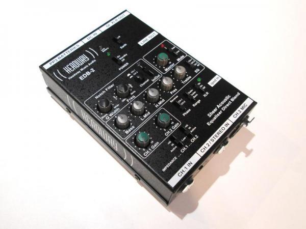 Headway Music Audio EDB-2≪2chアコースティック用プリアンプ≫