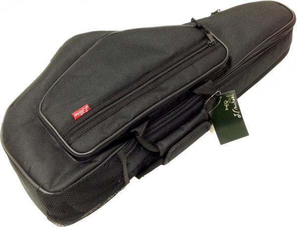 アルトサックスケース リュックタイプ サックス ソフトケース ブラック 楽器 管楽器 アルトサクソフォーン ケース 【 ALB BK 】