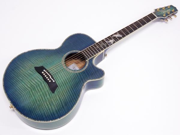 TAKAMINE ( タカミネ ) LTD2016 DECOY (Green Blue Burst)