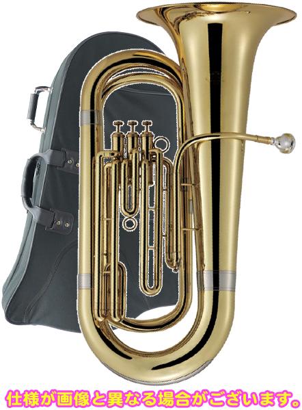 J Michael ( Jマイケル ) 3ピストン チューバ TU-2000 ゴールド 新品 アウトレット 第3 トップアクション 小型 楽器 本体 初心者 管楽器 【TU2000-B】
