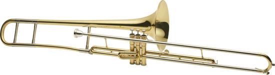 バルブトロンボーン 新品 アウトレット 管楽器 ピストントロンボーン ケース マウスピース付き 楽器 トロンボーン 管理品番 訳あり valve trombone