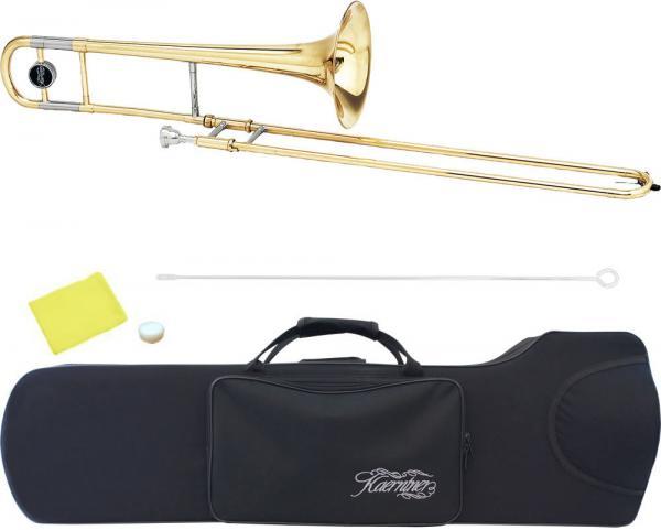 Kaerntner ( ケルントナー ) テナートロンボーン KTB45 細管 新品 B♭ トロンボーン 本体 スライド 初心者 管楽器 スモールシャンク スタンダード
