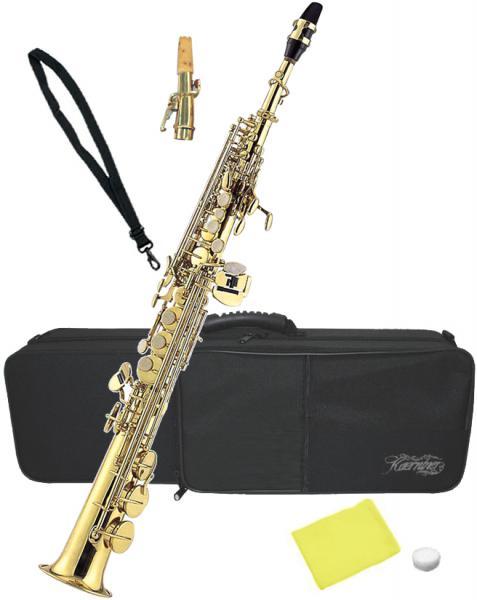 Kaerntner ( ケルントナー ) ソプラノサックス KSP-65 新品 管楽器 ストレート カーブド デタッチャブルネック B♭調 本体 初心者 KSP65 単品