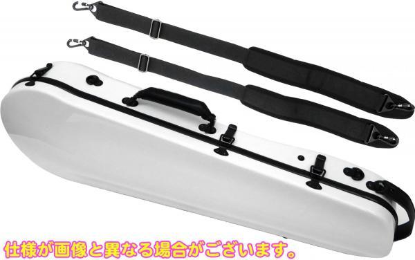 ビオラケース リュックタイプ 4/4サイズ 軽量 カーボンファイバー製 ハードケース カラー ホワイト ビオラ用 ケース 【 viola cases WHITE 】