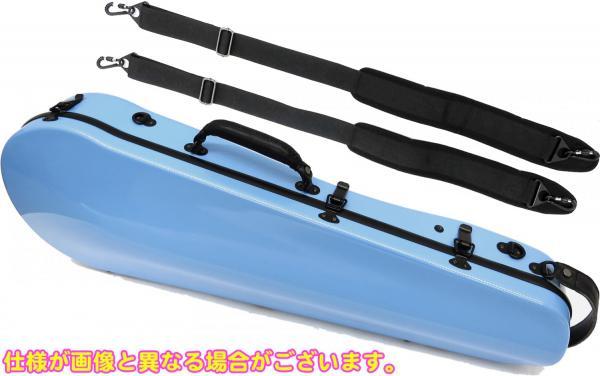 ビオラケース リュックタイプ 4/4サイズ 軽量 カーボンファイバー製 ハードケース カラー 水色 ビオラ用 ケース 【 viola cases P- BLUE 】