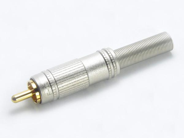 CANARE ( カナレ ) F09 ◆ RCAピンプラグ 適合ケーブルΦ6.0mmまで