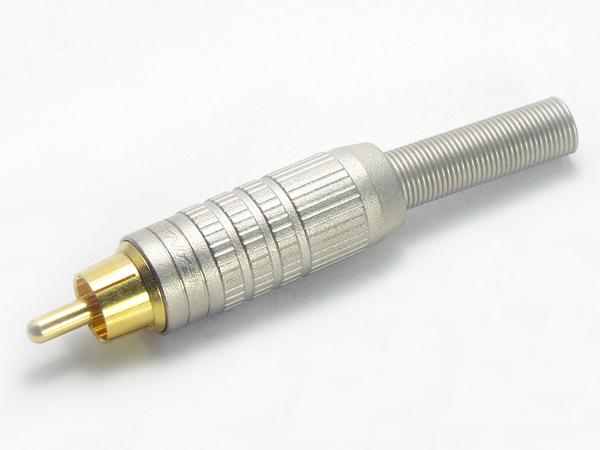 CANARE ( カナレ ) F10 ◆ RCAピンプラグ 適合ケーブルΦ6.0mmまで