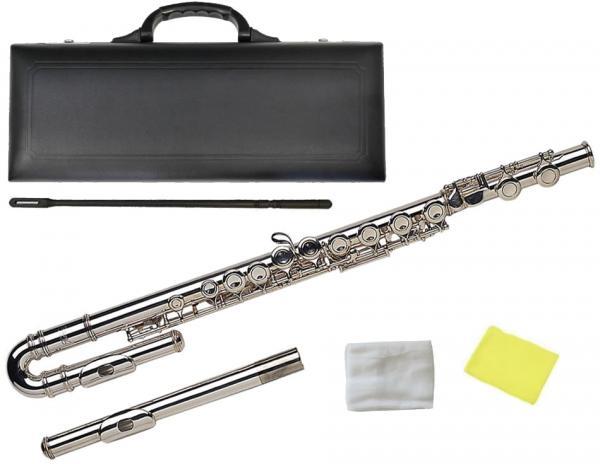 Kaerntner ( ケルントナー ) U字管 フルート KFLU-35 新品 こども用 管楽器 楽器 U字頭部管モデル ストレート頭部管 頭部管 2本 セット 管楽器 Flute