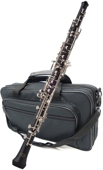 木製 & 樹脂 オーボエ 新品 楽器 本体 合成木 初心者 練習用 管楽器 セミオート 送料無料 【 OBOE1500 】