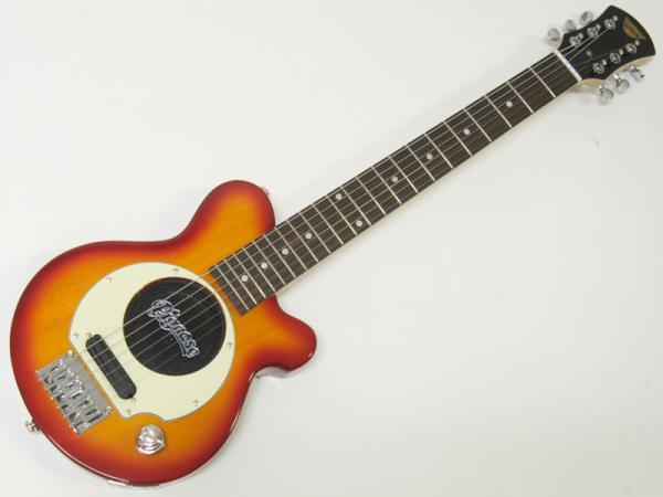 Pignose ( ピグノーズ ) PGG-200(CS)【アンプ内蔵 エレキギター】ミニギター チェリーサンバースト