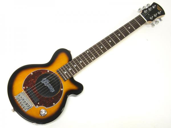 Pignose ( ピグノーズ ) PGG-200(BS) 【アンプ内蔵 エレキギター】ミニギター サンバースト