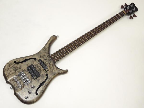Warwick ( ワーウィック ) INFINITY NT 4st AAAA Bird´s Eye Maple / Bleached Nirvana Black