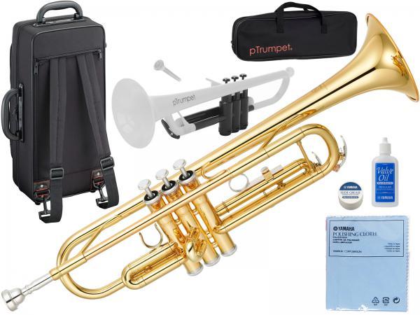 YAMAHA ( ヤマハ ) YTR-3335 トランペット リバース管 ゴールド 1本支柱 管楽器 B♭ 正規品 YTR-3335-01 Trumpet PTRUMPET セット 北海道 沖縄 離島 不可