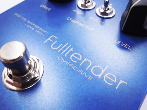 Jersey Girl Homemade Guitars Fulltender Overdrive