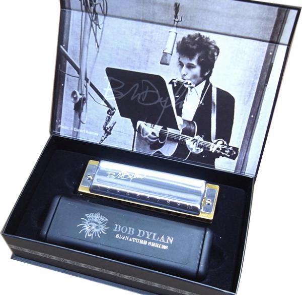 HOHNER ( ホーナー ) ボブディラン シグネイチャーモデル 10穴 C調 木製ボディ ブルースハープ 型 テンホールズ ハーモニカ 楽器 Bob Dylan SIG.