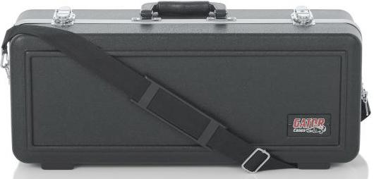 GATOR ( ゲイター ) トランペット ケース GC-TRUMPET ハードケース ブラック 肩掛け ショルダー ストラップ付き 管楽器 持ち運び  ABS樹脂 B♭ Trumpet case bag