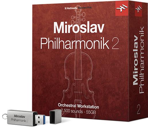 IK MULTIMEDIA MIROSLAV PHILHARMONIK 2  通常版