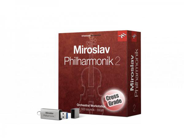 IK MULTIMEDIA MIROSLAV PHILHARMONIK 2 クロスグレード