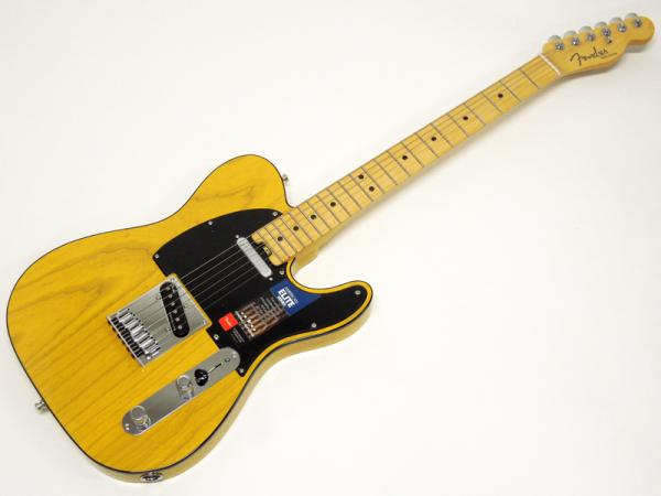 FENDER American Elite Telecaster / Maple / Butterscotch Blonde