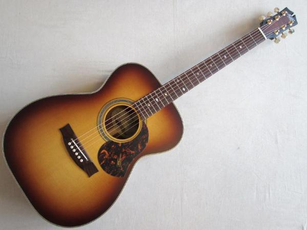 "Maton Guitars ( メイトンギターズ ) EBG808 ARTIST ""Tabaco Halo Burst"""