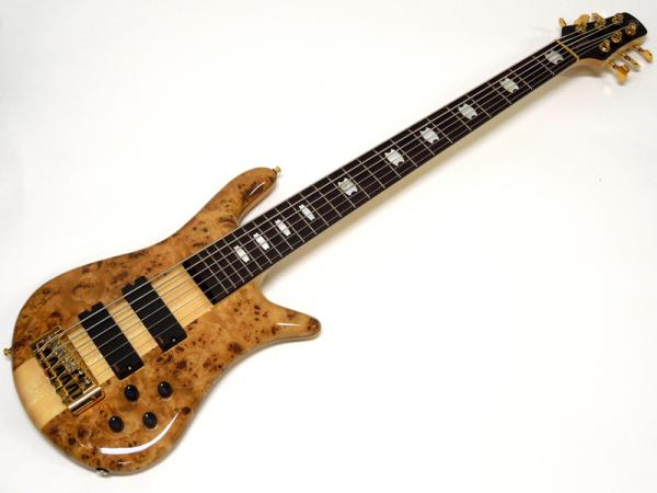 SPECTOR EURO 6 LX Poplar Burl Top /Natural Gloss