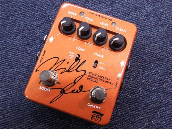 EBS ( イービーエス ) Billy Sheehan Signature Drive DELUXE