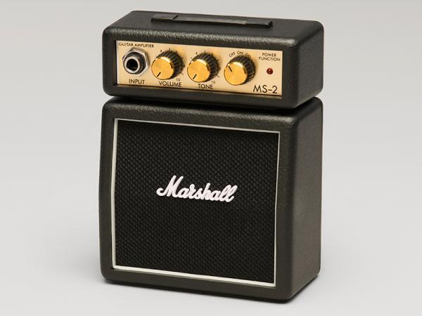 Marshall ( マーシャル ) MS2 【マイクロアンプ 電池駆動 ミニ ギターアンプ 】
