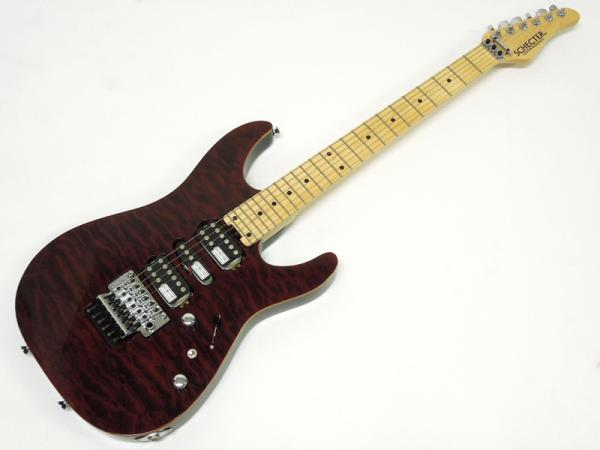 SCHECTER NV-3-24-AL / RED / Maple Fingerboard