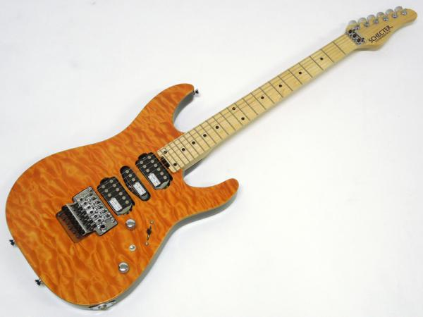 SCHECTER ( シェクター ) NV-3-24-AL / Amber / Maple Fingerboard