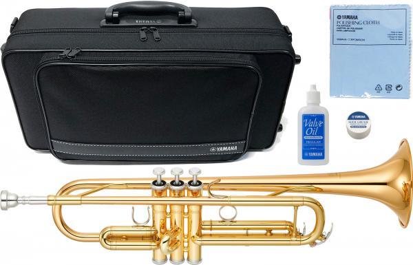 YAMAHA ( ヤマハ ) 送料無料 トランペット YTR-4335G2 ゴールドブラスベル 新品 日本製 楽器 B♭ 本体 初心者 管楽器 マウスピース ケース付き