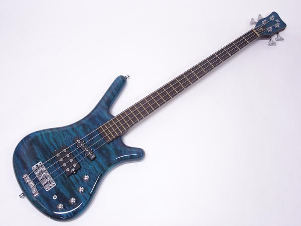 Warwick ( ワーウィック ) Customshop Corvette $$ 4st / 3A Quilted Maple Top / Turquoise Blue SHP