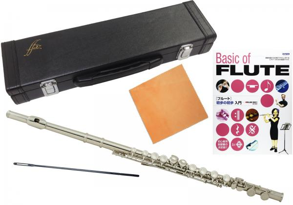 ZEFF ( ゼフ ) 調整品 フルート ZFL-30 新品 銀メッキ Eメカニズム付き 初心者 カバードキイ 頭部管 主管 足部管 管楽器 本体 C管 flute 【 ZFL30 セット D】