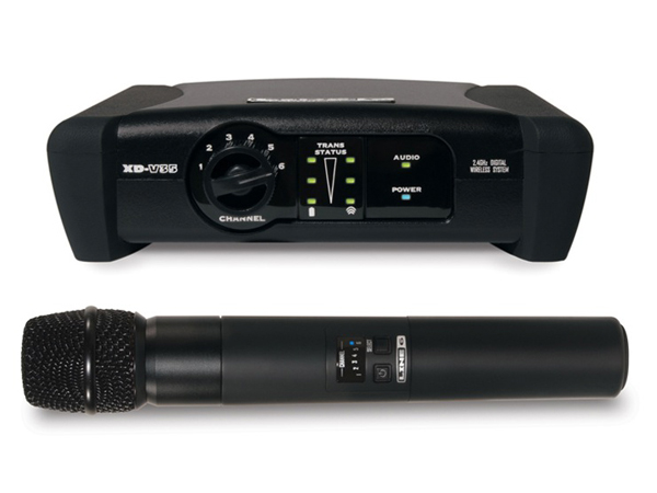 LINE6 ( ラインシックス ) XD-V35  ◆ 2.4GHz帯デジタルワイヤレスマイクシステム ハンドヘルドマイク