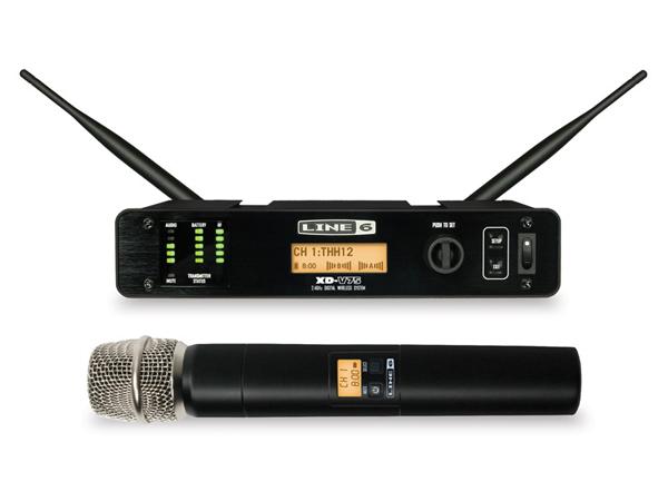 LINE6 ( ラインシックス ) XD-V75 ◆ 2.4GHz帯デジタルワイヤレスマイクシステム ハンドヘルドマイク