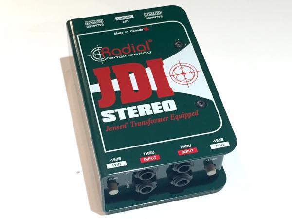 Radial ( ラディアル ) JDI Stereo ≪ステレオ・パッシブDIボックス≫