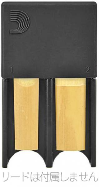 D'Addario Woodwinds ( ダダリオ ウッドウィンズ ) リードガード ブラック アルトサックス B♭ クラリネット リード 4枚収納 リードケース Reed Guard DRGRD4ACBK LDADRG4CLASBK BK