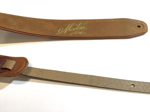 Maton Guitars ( メイトンギターズ ) Leather Strap DX / BROWN
