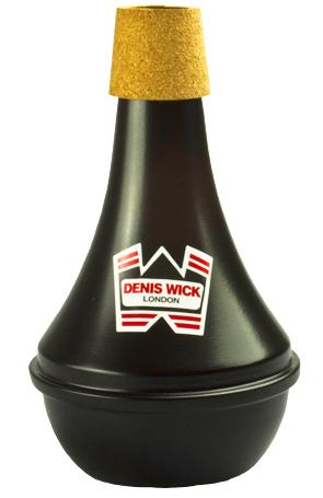 Denis Wick トランペットミュート プラクティス 5526 ブラック 楽器 練習用 ミュート デニスウィック サイレンサー 黒色