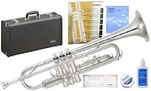 YAMAHA ( ヤマハ ) 送料無料 銀メッキ トランペット YTR-2330S 新品 日本製 楽器 本体 カラー シルバーメッキ ケース付き 初心者 管楽器 Trumpets