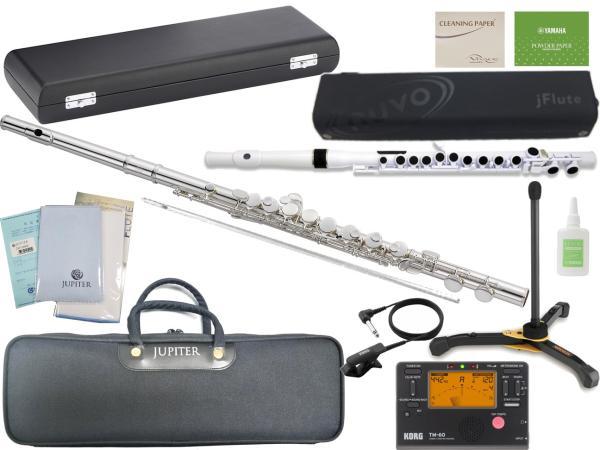 JUPITER  ( ジュピター ) 送料無料 銀メッキ アルトフルート JAF1000E 新品 Eメカニズム付き 頭部管 主管 カバードキー G管 管楽器 管体 ニッケルシルバー 楽器