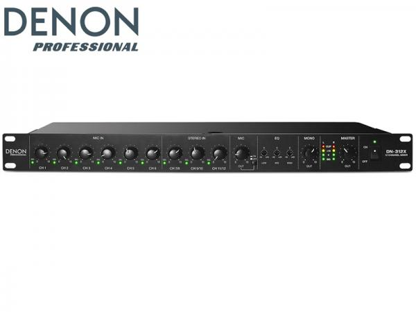 DENON ( デノン ) DN-312X  ◆ マイク/ライン ミキサー